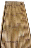 Bamboo bench and grass Royalty Free Stock Photography