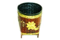 Bamboo  bin Royalty Free Stock Photo