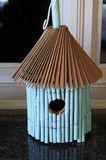 Bamboo Birdhouse Stock Images