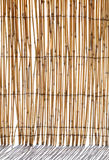 Bamboo blind Royalty Free Stock Photos