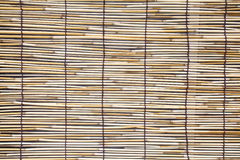 Bamboo blind pattern Royalty Free Stock Photo