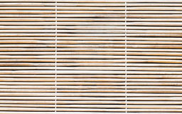 Bamboo blind texture Royalty Free Stock Images