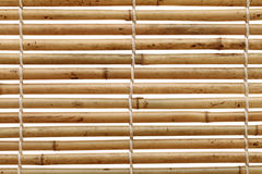 Bamboo blind Stock Image