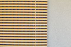 Bamboo blind Royalty Free Stock Photo