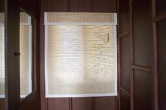 Bamboo Blinds Stock Photos