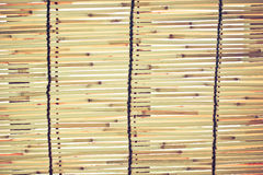 Bamboo blinds Royalty Free Stock Photography