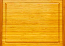 Bamboo board Royalty Free Stock Images