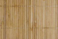 Bamboo board mat background Royalty Free Stock Photography