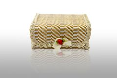Bamboo box Royalty Free Stock Image