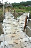 Bamboo Branch Bridge Royalty Free Stock Images