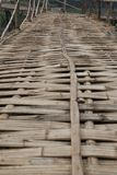Bamboo bridge Royalty Free Stock Photography