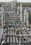 Bamboo bridge Royalty Free Stock Image