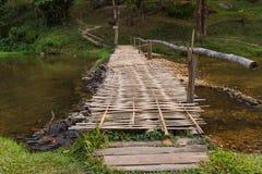 Bamboo bridge Stock Photos