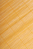 Bamboo brown straw mat as abstract texture background compositio. N, top view above royalty free stock photos