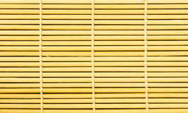 Bamboo brown straw mat as abstract texture background Royalty Free Stock Image