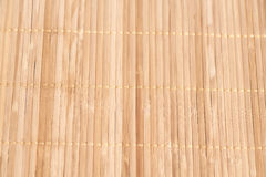 Bamboo brown straw texture background. Wooden background royalty free stock photography