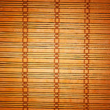 Bamboo brown tablecloth Royalty Free Stock Images
