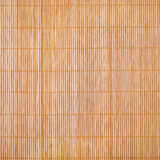 Bamboo brown tablecloth Stock Image