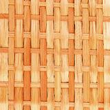 Bamboo brown tablecloth Royalty Free Stock Image