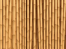 Bamboo brown texture Stock Photo