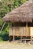 Bamboo building details in Ecuador Stock Photos