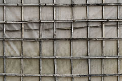 Bamboo Canvas Wall. Siem Reap, Cambodia Royalty Free Stock Images