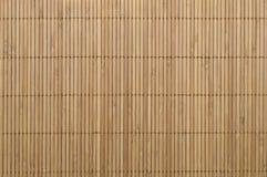 Bamboo carpet. Background of bamboo mat texture Stock Photo