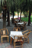 Bamboo Chair And Table Royalty Free Stock Images