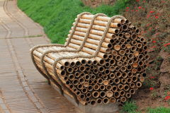 Bamboo Chair Royalty Free Stock Photo