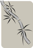 Bamboo  chinese ink painting Stock Images