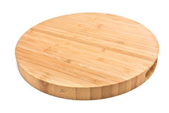 Bamboo Chopping Board Royalty Free Stock Image