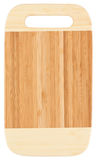 Bamboo chopping board Stock Photos