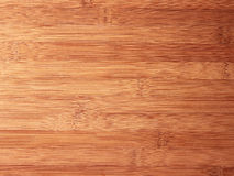 Bamboo chopping board texture Stock Images