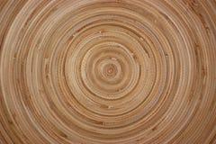 Bamboo circles Royalty Free Stock Images