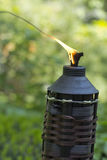 Bamboo Citronella Torch Royalty Free Stock Photo