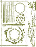 Bamboo Collection Stock Image