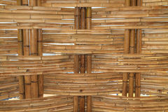 Bamboo Construction Interior View Stock Photos