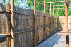 Bamboo constructions Royalty Free Stock Image