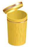 Bamboo container Stock Photos