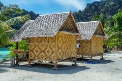 Bamboo cottage Stock Photos