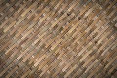 Bamboo craft texture Stock Photo