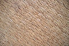 Bamboo craft texture background. The dirty old bamboo background Stock Images