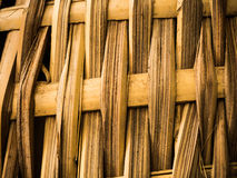 Bamboo craft texture Royalty Free Stock Images