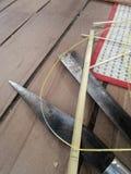 Bamboo Craft tool Royalty Free Stock Photos