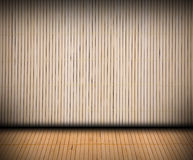 Bamboo room Royalty Free Stock Images