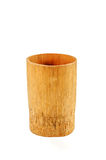 Bamboo cup Stock Image