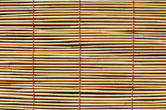 Bamboo curtain. Close up of bamboo curtain for background Stock Photos