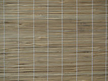 Bamboo curtain Stock Images