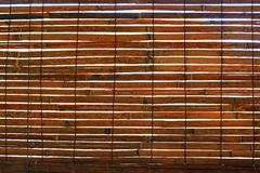 Bamboo curtain. For background use Royalty Free Stock Photography