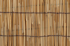 Bamboo curtain Royalty Free Stock Image